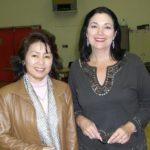 オペラスタジオにてキャロル・ヴァネスと共に
